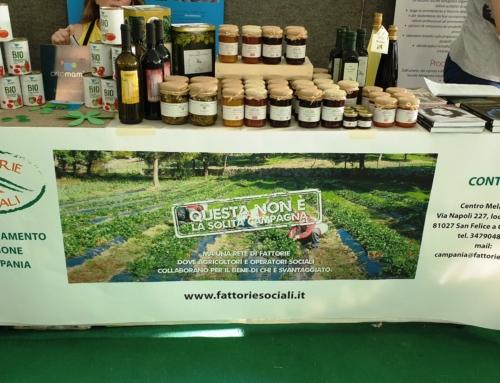 Villaggio del gusto: presentata la Rete Fattorie Sociali della Campania e la sinergia tra Melagrana e ABIM
