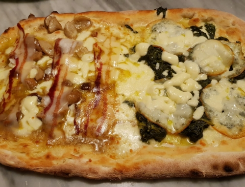 Vi consegniamo a casa le nostre pizze! Il venerdì e il sabato. E la domenica anche il pranzo!
